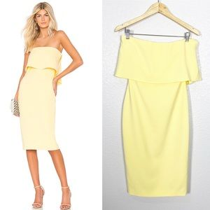 Likely NWT Driggs Strapless Cocktail Dress Sz 4